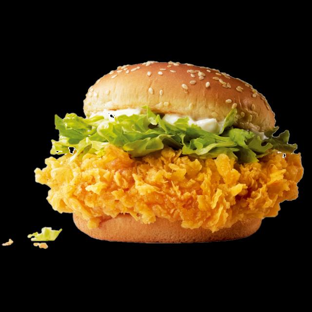 麦当劳麦辣鸡腿汉堡