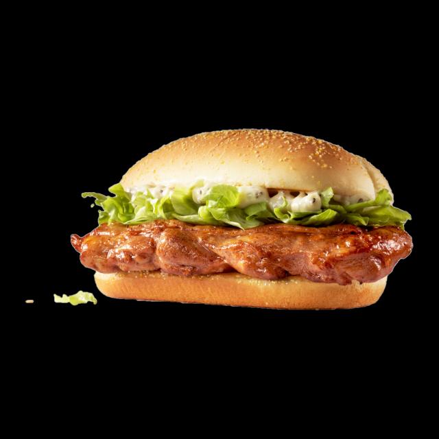 麦当劳原味板烧鸡腿堡
