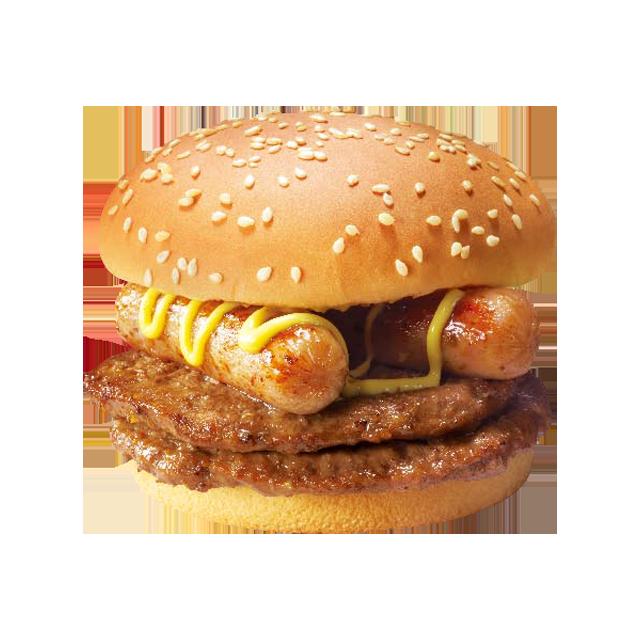 麦当劳不素之霸双层牛堡