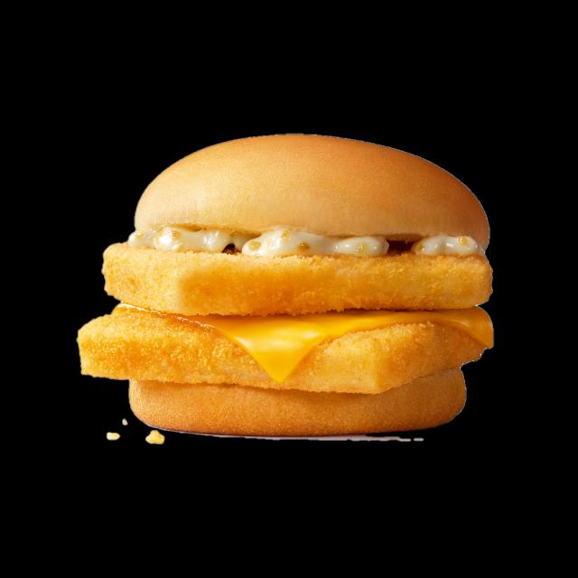 麦当劳双层深海鳕鱼堡