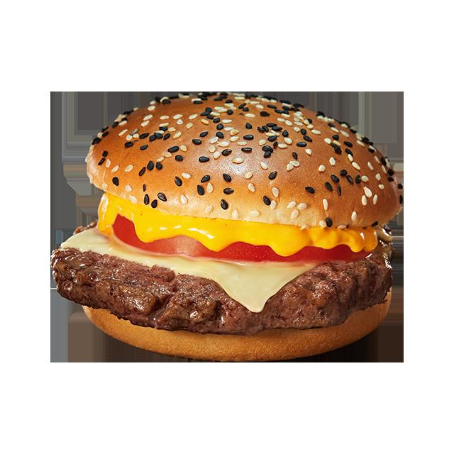 麦当劳安格斯厚牛芝士堡
