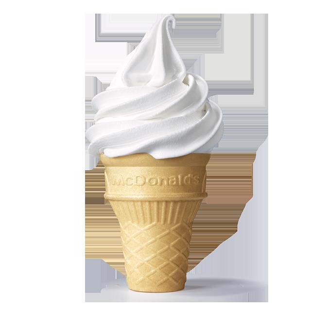麦当劳圆筒冰淇淋