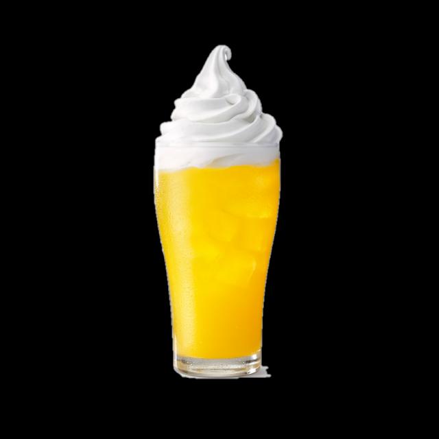 麦当劳麦旋酷阳光橙