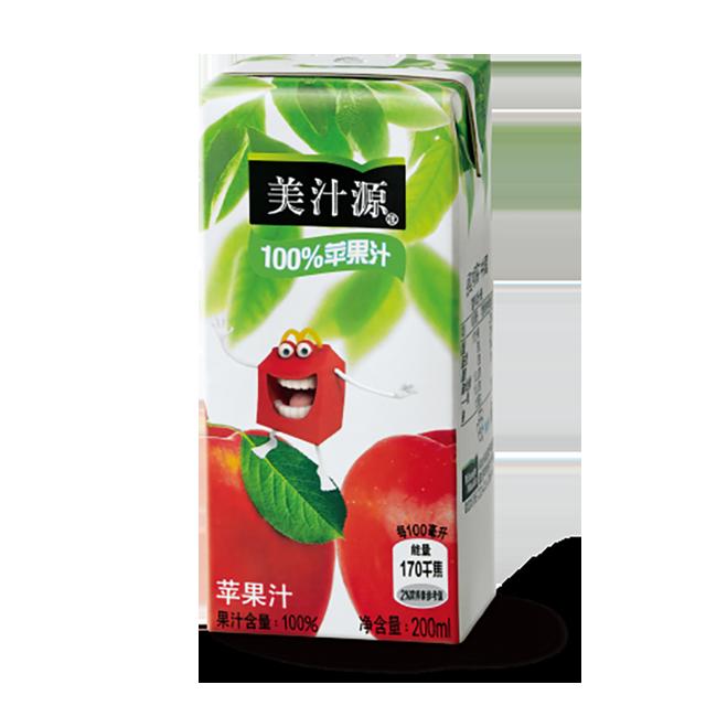 麦当劳美汁源100%苹果汁