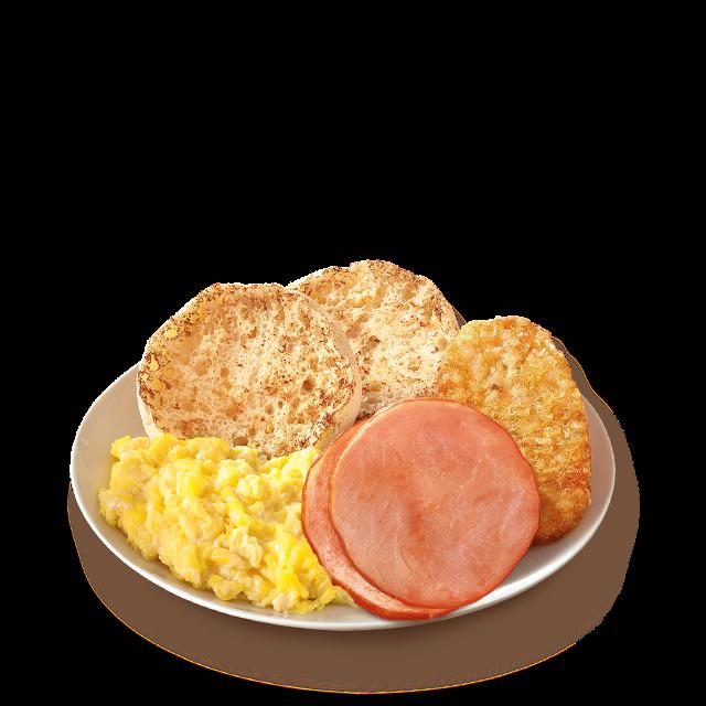 麦当劳鲜美烟肉早晨全餐